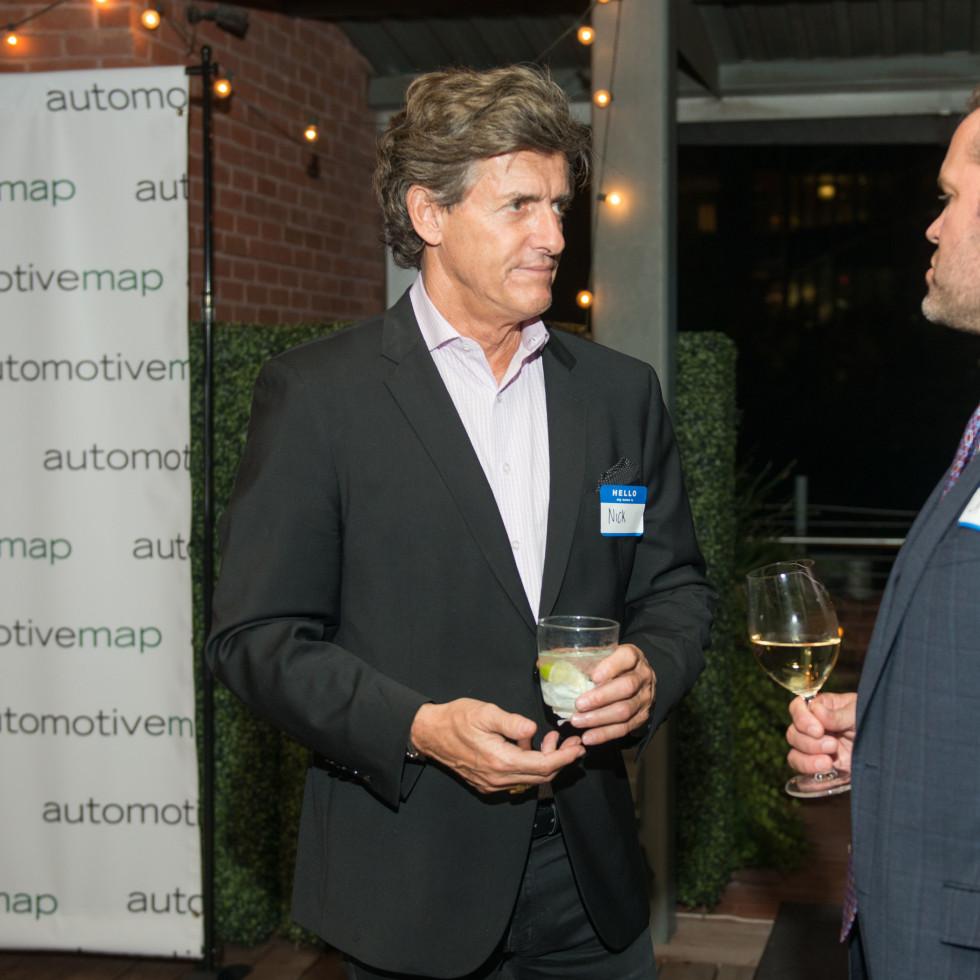 Automotive Map launch party 2019 Nick Florescu and Chris Dvorachek