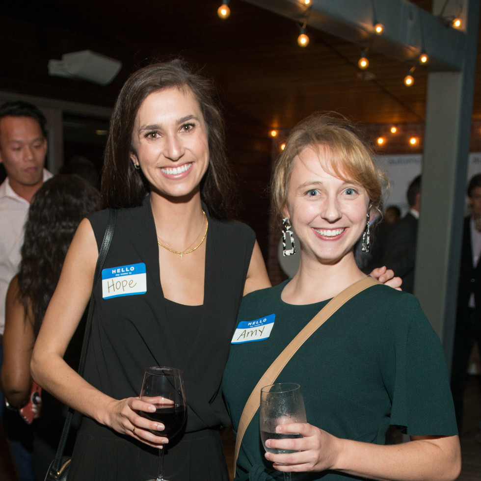 Automotive Map launch party 2019 Hope Erwin and Amy Rasplicka