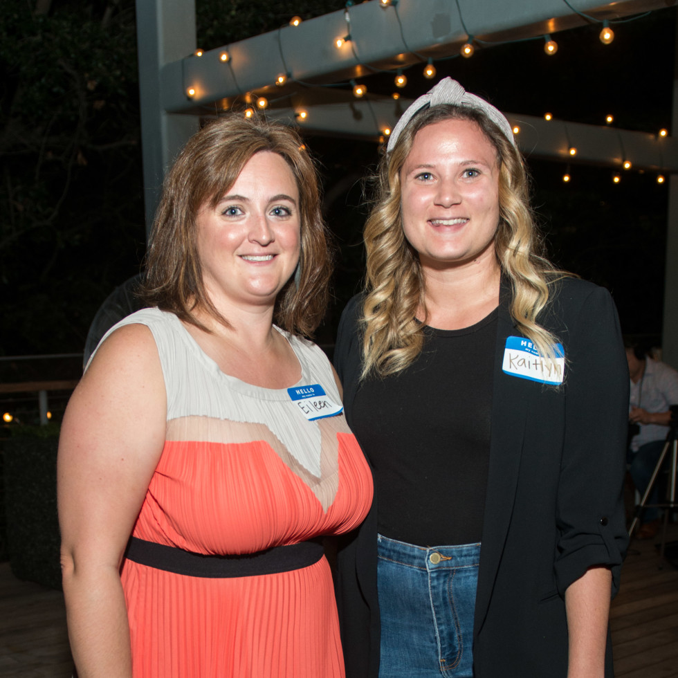 Automotive Map launch party 2019 Eileen Falkenberg-Hull and Kaitlyn Dykstra