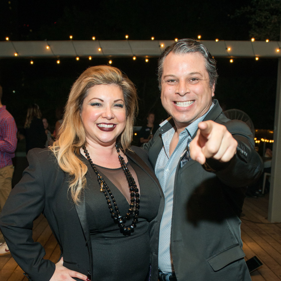 Automotive Map launch party 2019 Sylvia Celeste and Freddy Goerges
