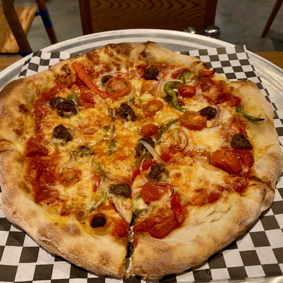 Buffalo Bayou Brewing Company pizza