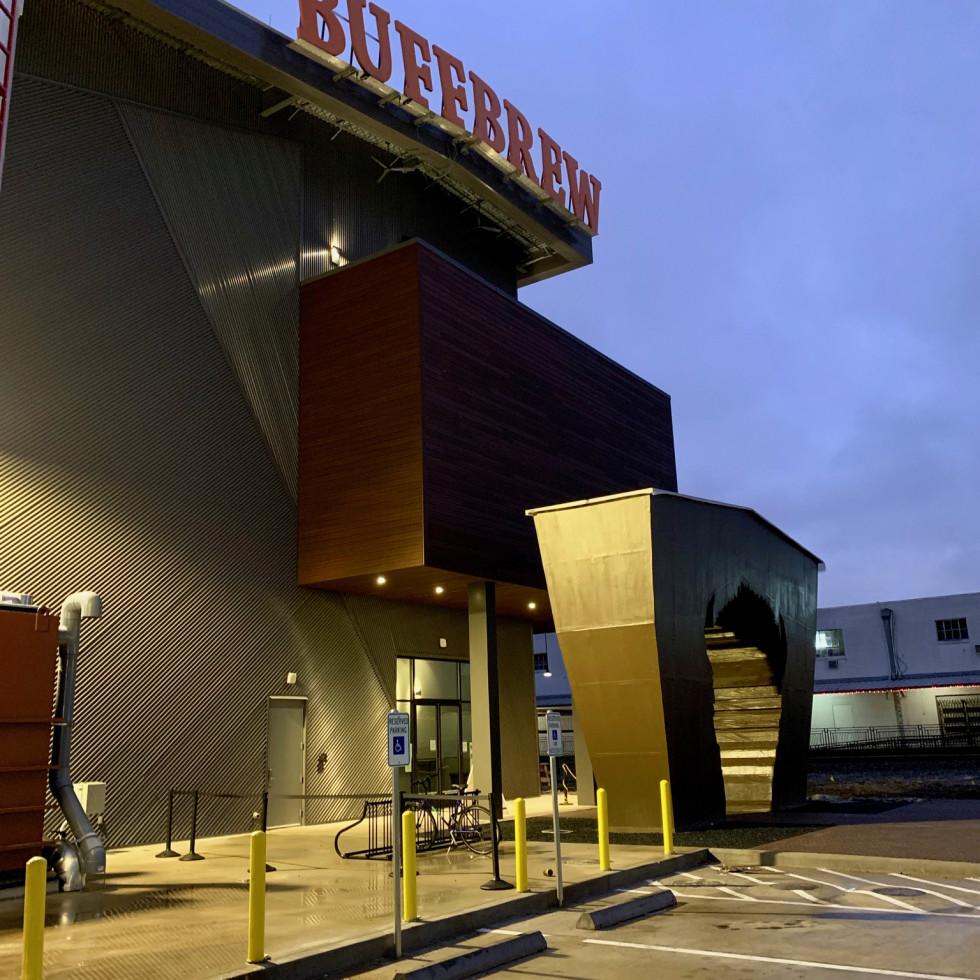 Buffalo Bayou Brewing Company entrance