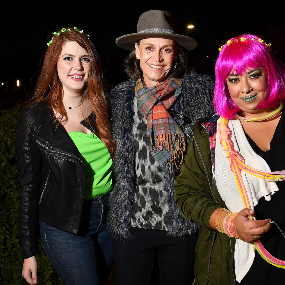 Urban Wild Bridge Bash Amanda Bissett, Molly Glotfelty, and Desiree Alejandro