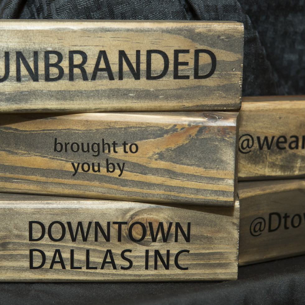 Unbranded wooden sign