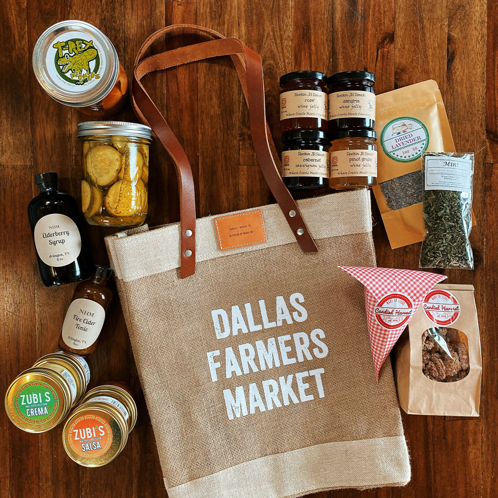 Dallas Farmers Market bag