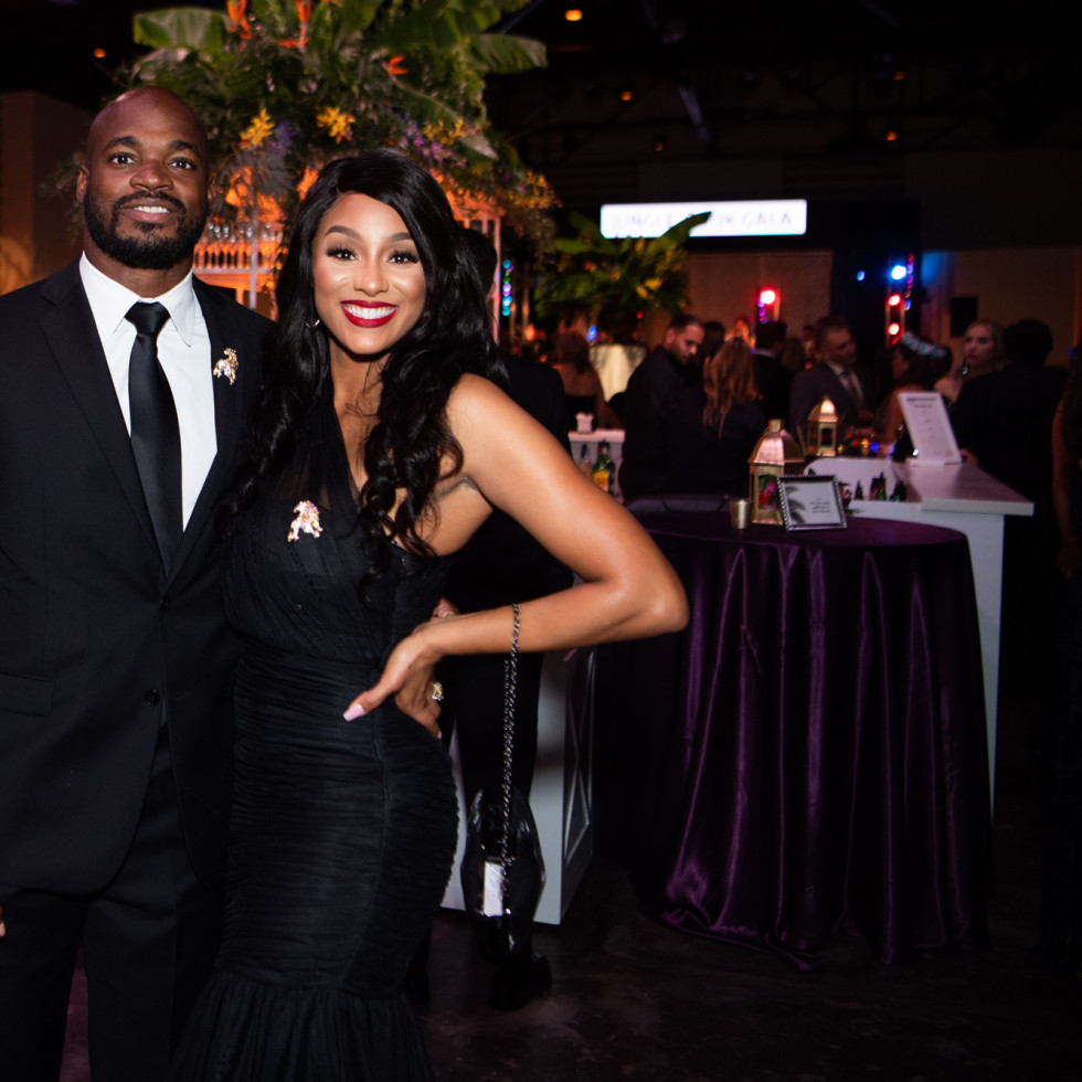 Jungle Book Gala 2019 Adrian and Ashley Peterson