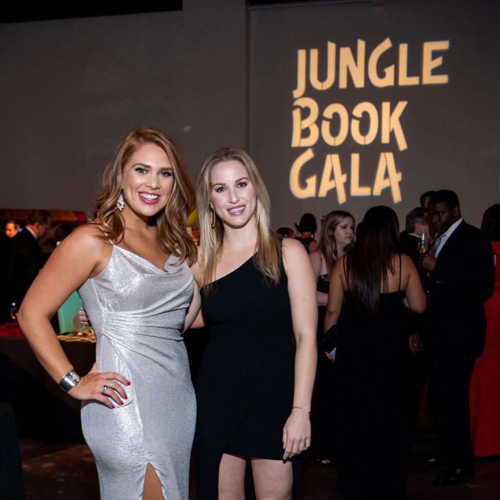 Jungle Book Gala 2019 Alexa Bode and Samantha Averett