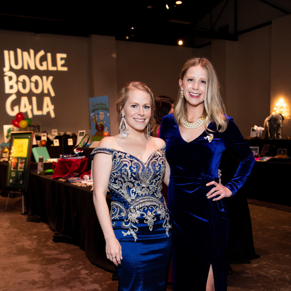 Jungle Book Gala 2019 Emily Smith and Heather Duval