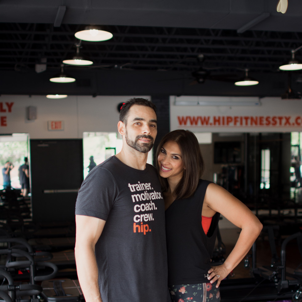 Lubna Kamal and her husband