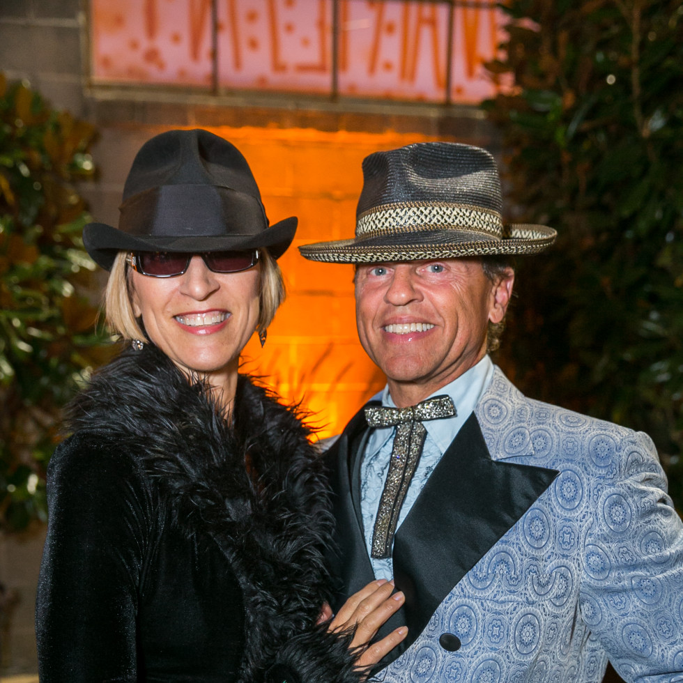 Orange Show Gala 2019 Ann Hyde John Kerr Smither