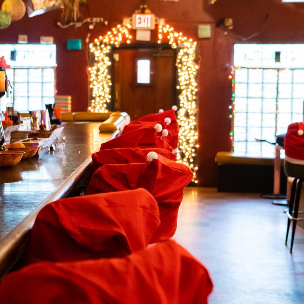 Nickel City Sippin' Santa