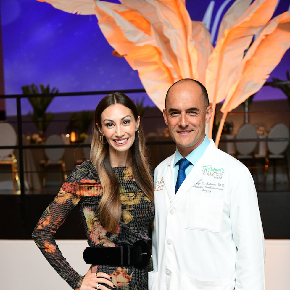 Illuminate the Night CMHH April and Dr. Jorge Salazar