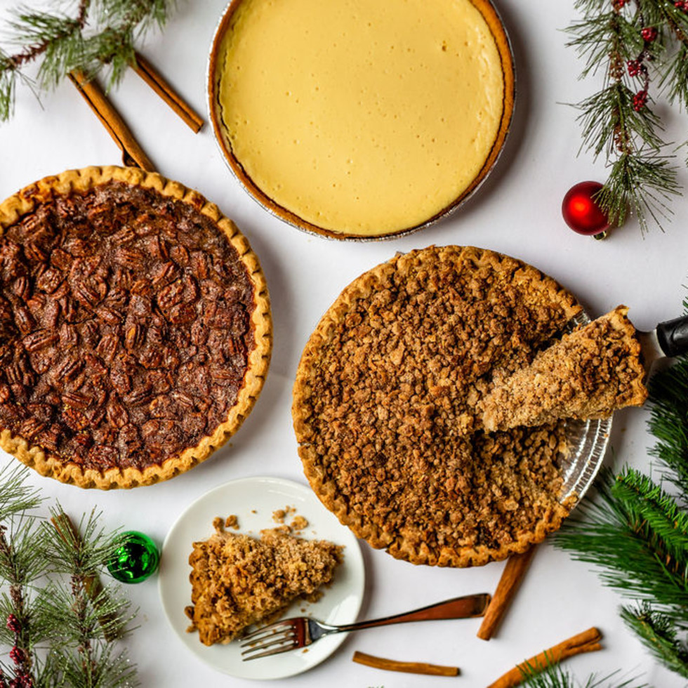 Holiday pies from B&B Butchers
