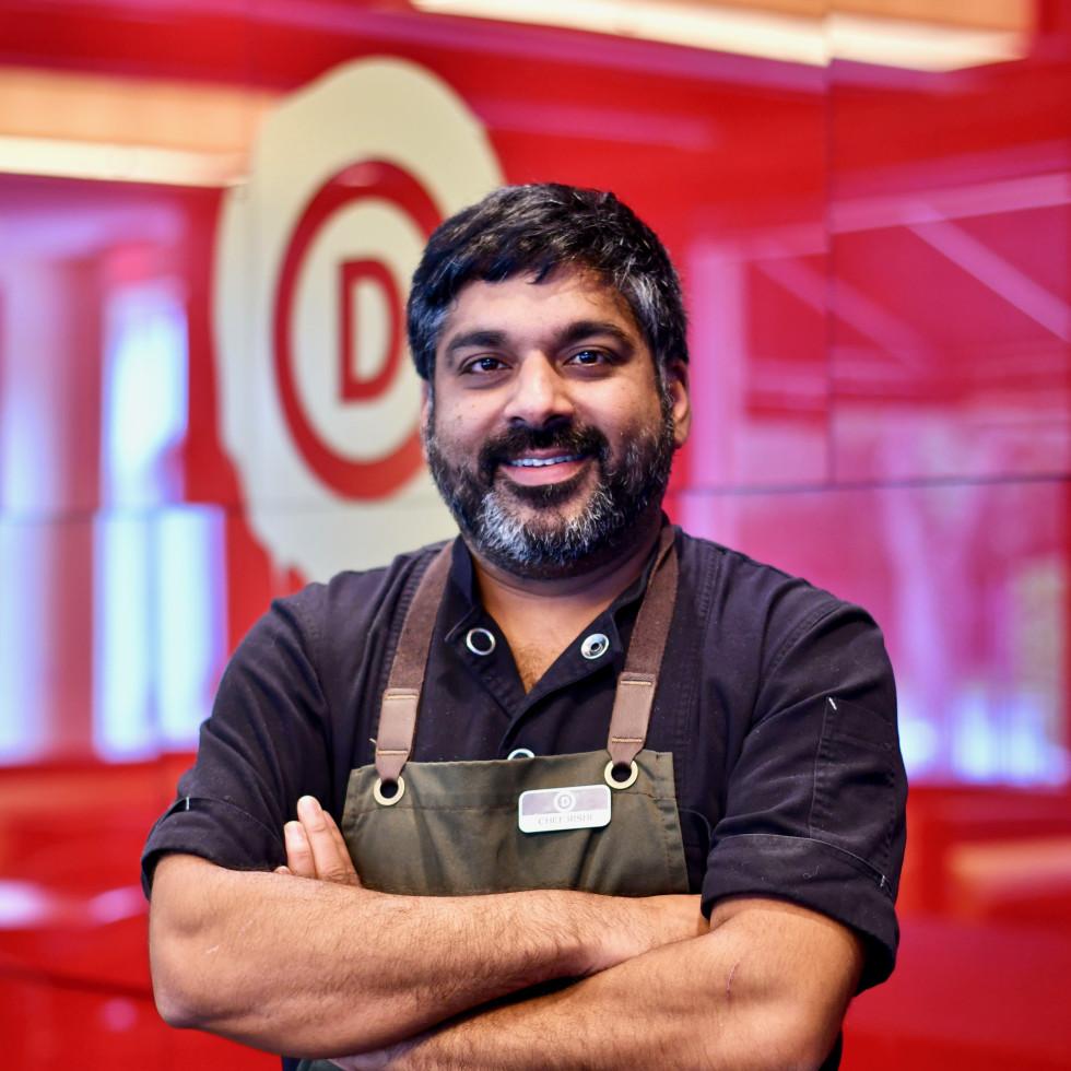 Rishi Singh Revolve Kitchen Hotel Derek