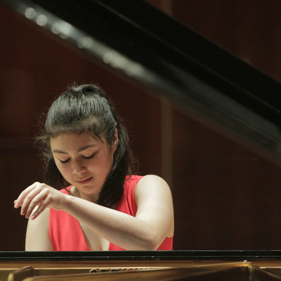 Avery Gagliano, Cliburn competition junior