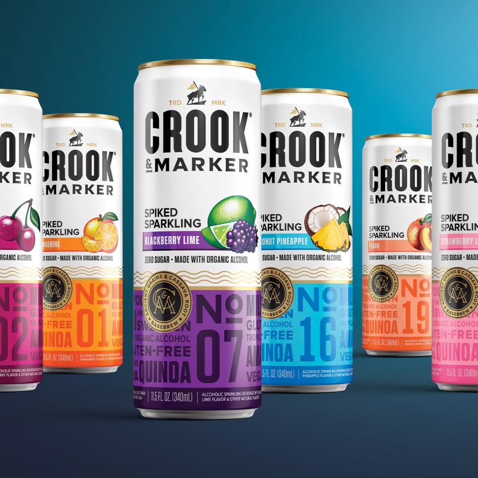 Crook & Marker spiked seltzer