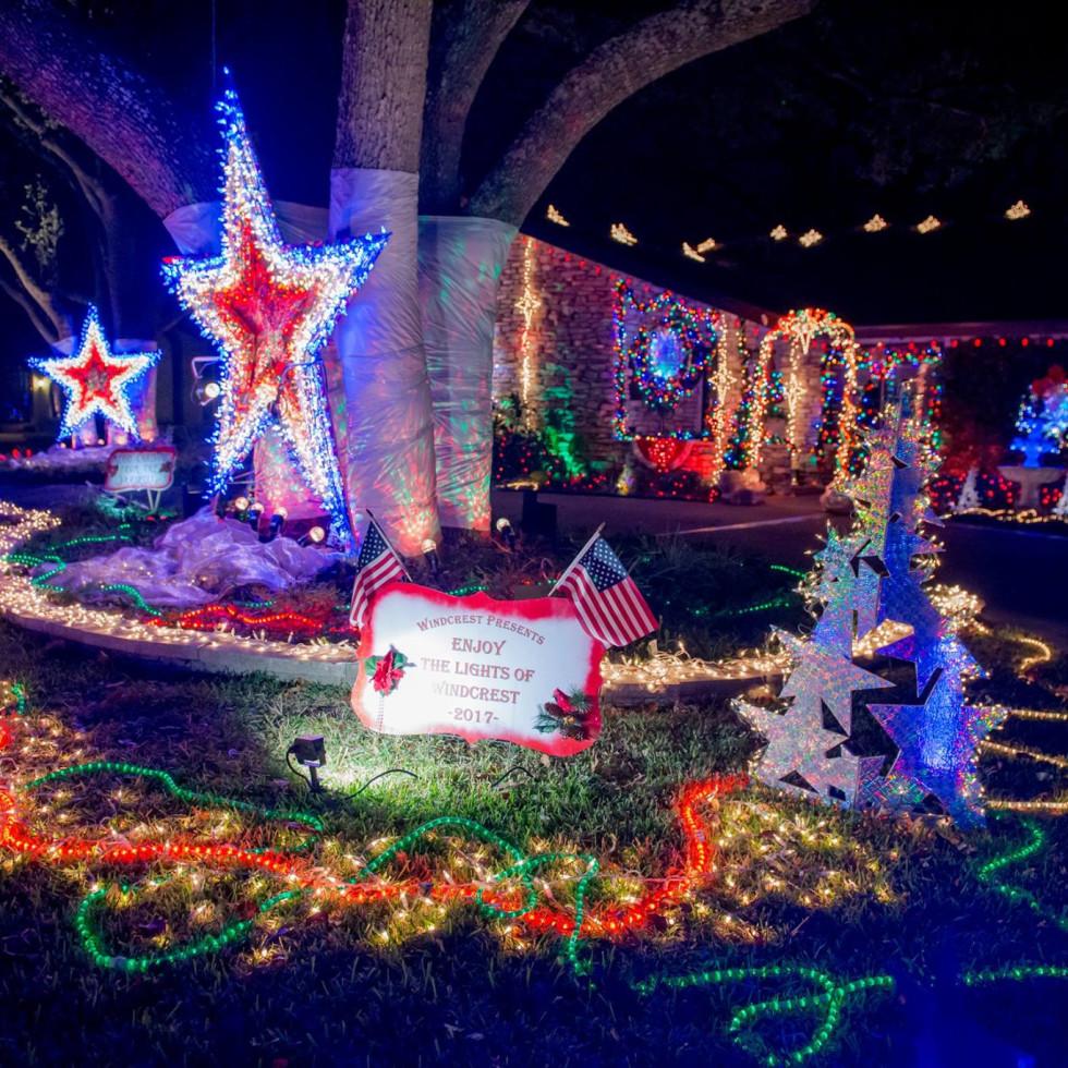 Windcrest Christmas Light-Up