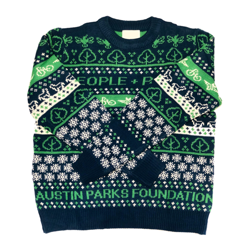 Austin Parks Foundation ugly sweater