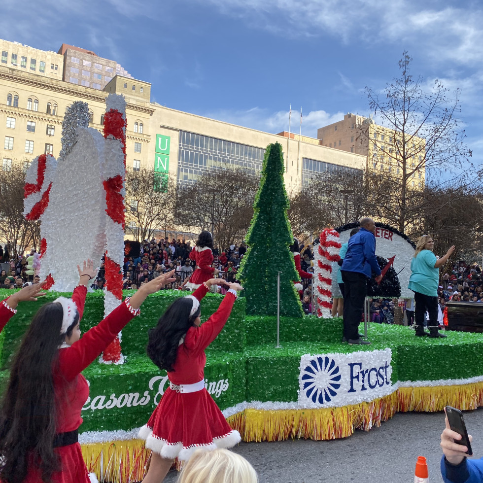 Frost Dallas Holiday Parade