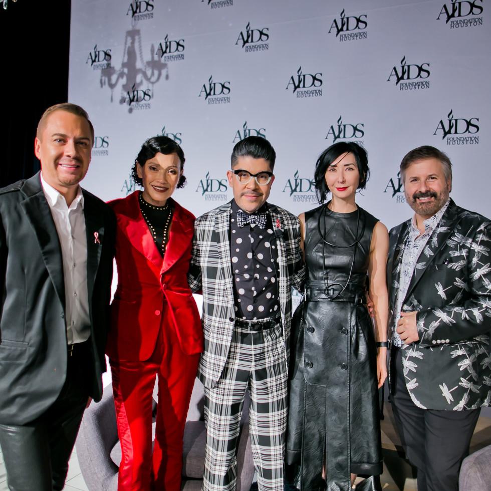 World AIDS Day Luncheon 2019 Adrian Dueñas, Duyen Nguyen, Mondo Guerra, Carrie Brandsberg-Dahl, Ernie Manouse