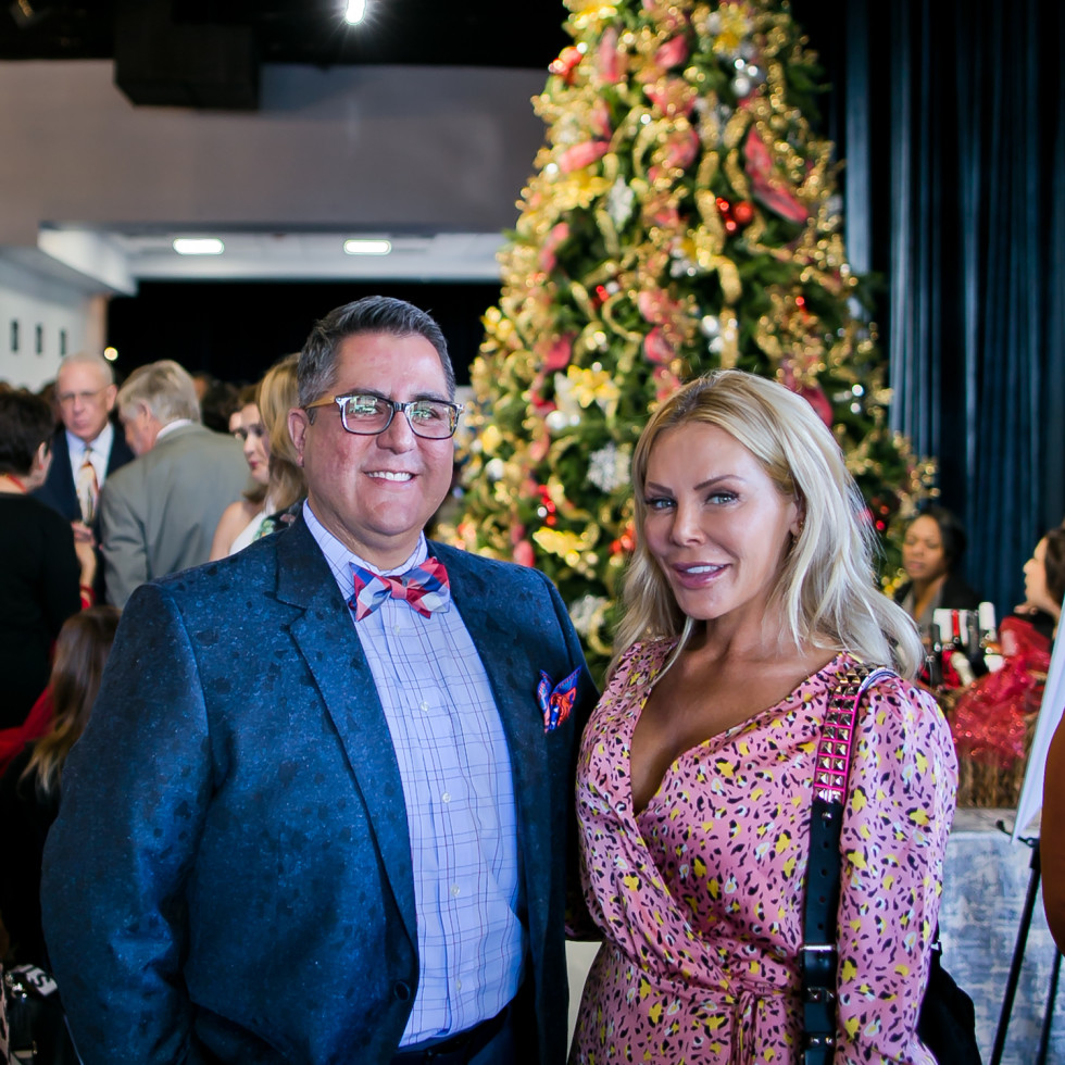 World AIDS Day Luncheon 2019 Dr. Roland Maldonado and Amanda Mills