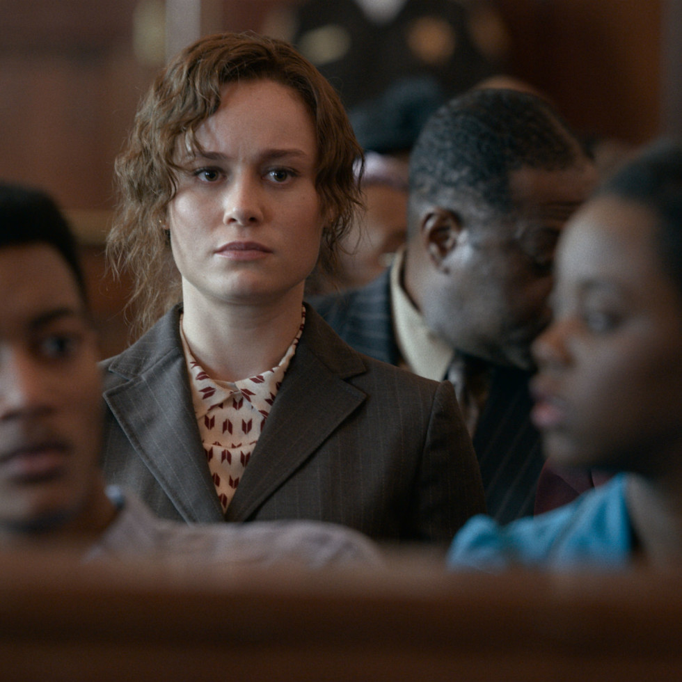 Brie Larson in Just Mercy