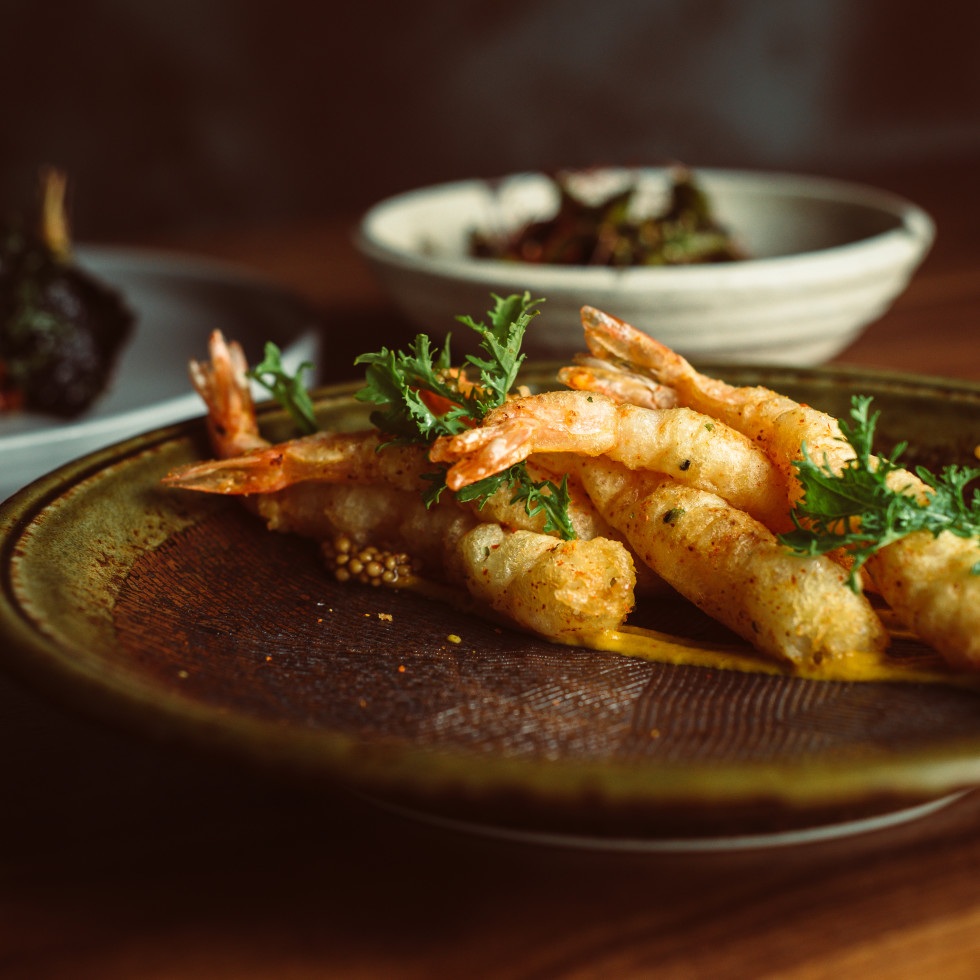 TenTen Austin shrimp tempura
