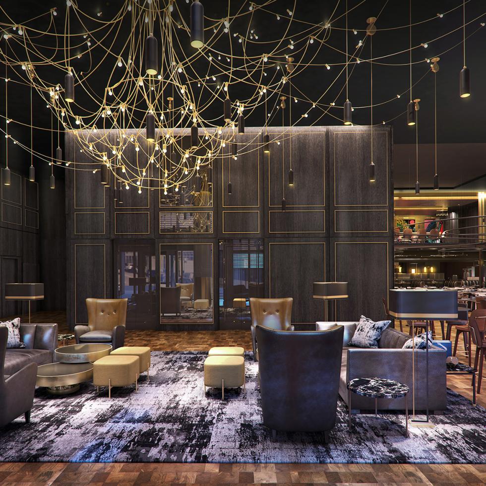 The Otis Hotel rendering