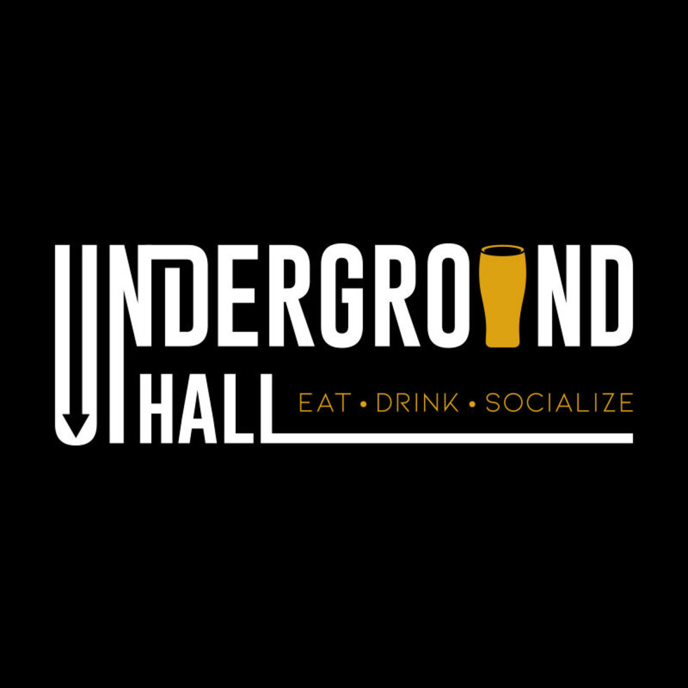 Underground Hall downtown food hall logo