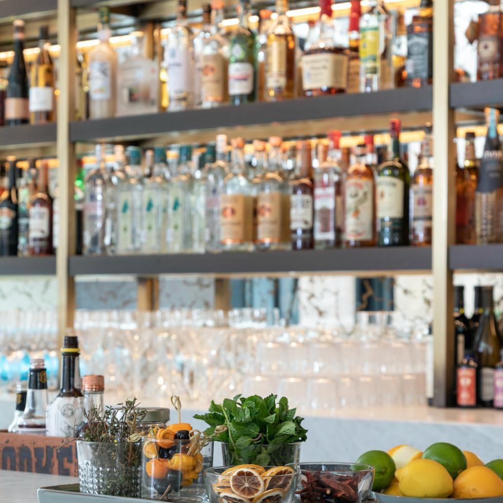 Adair Downtown bar set ups
