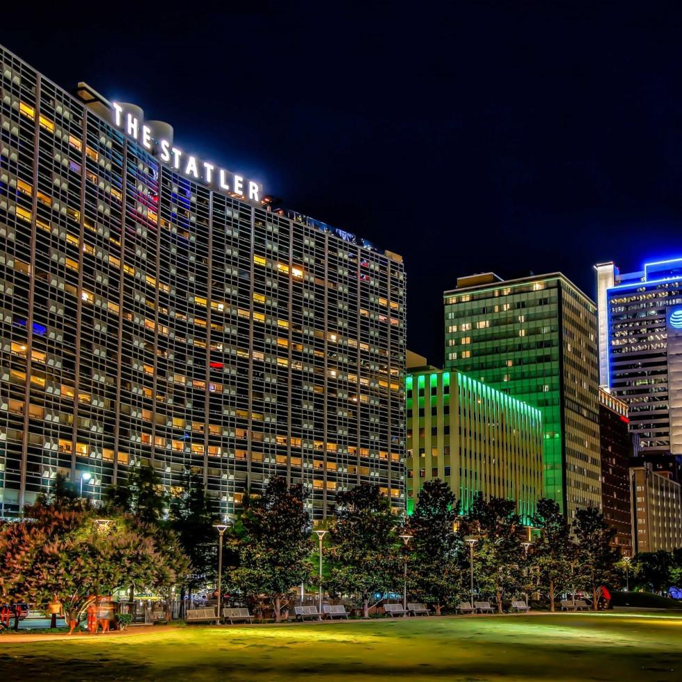 The Statler Hotel in Dallas