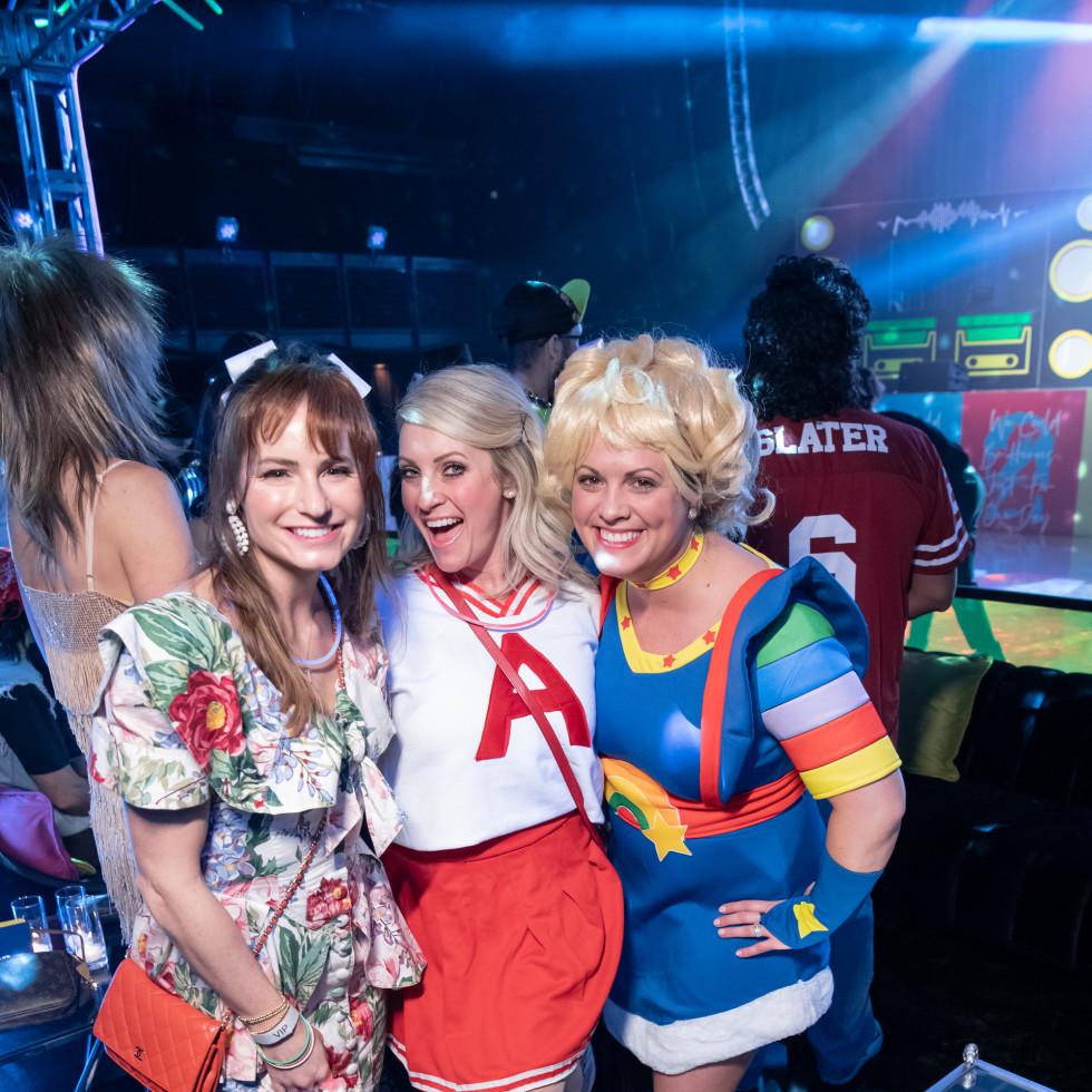 Bailey Lloyd, Jessica Rugg, Tiffany Brooks