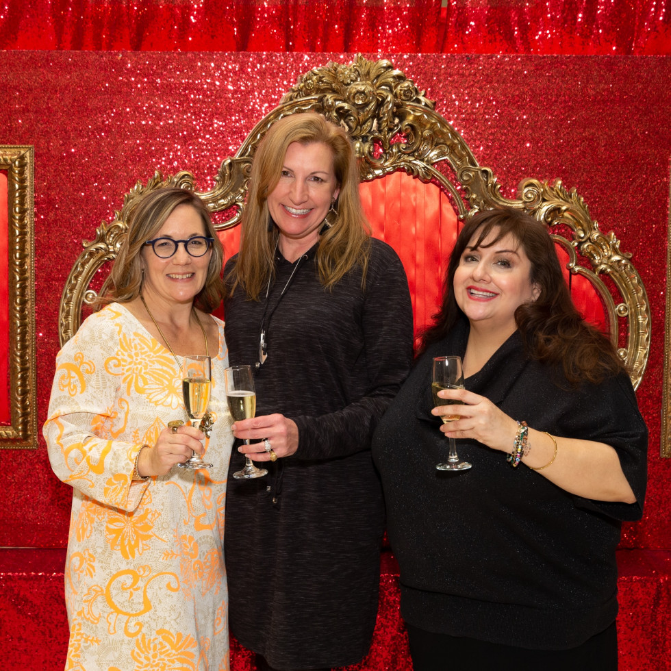 Social Book Neiman Marcus Page Parkes anniversary 2020 Kat Creech, Laurette Veres and Sonia Soto