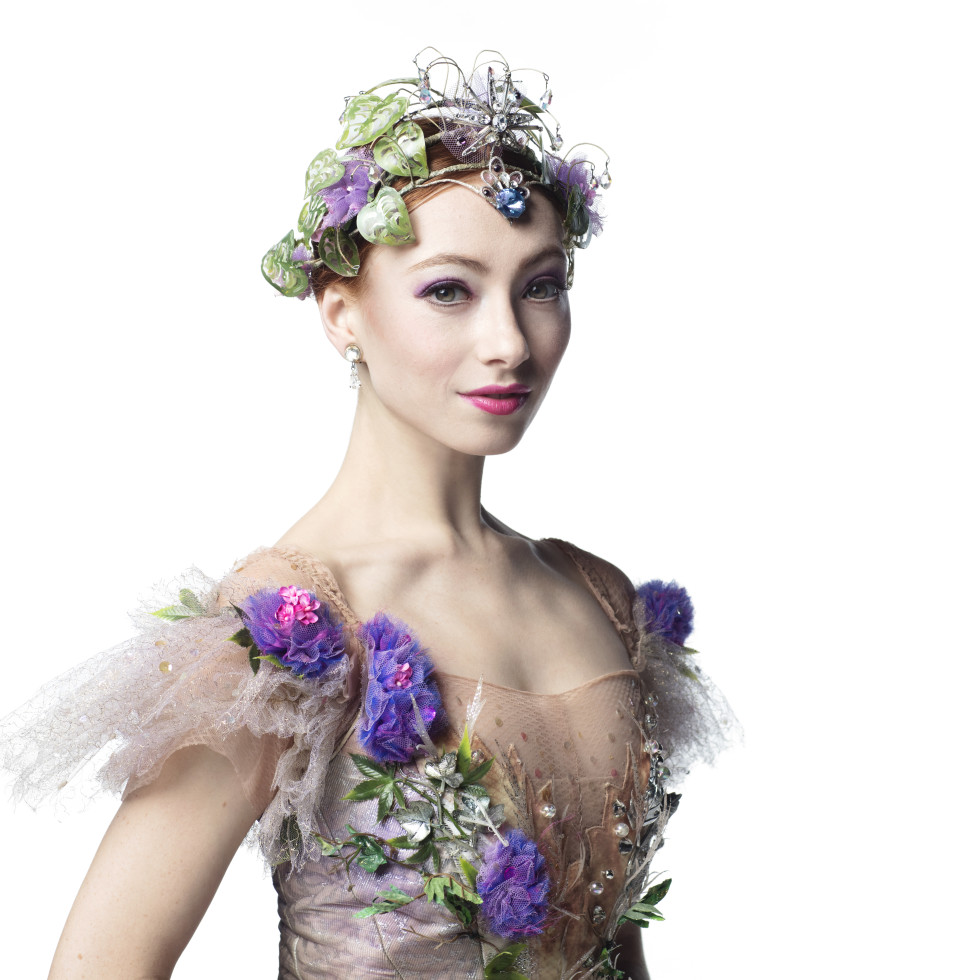 Houston Ballet soloist Alyssa Springer as The Lilac Fairy