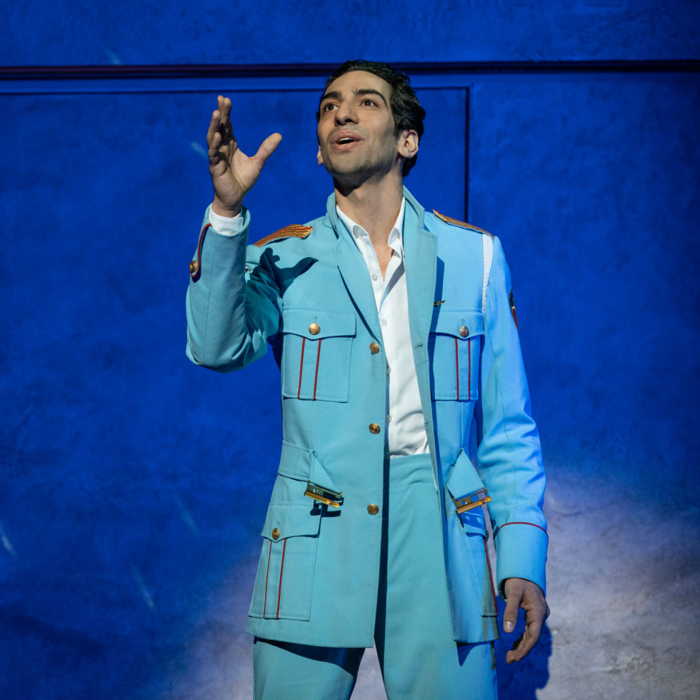 Joe Joseph in the national tour of The Band's Visit