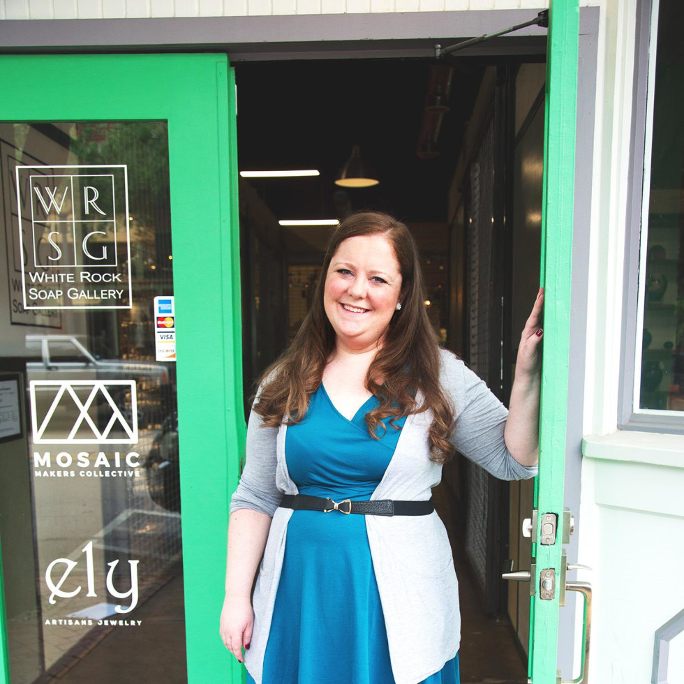Mosaic Makers Collective founder Katy Sensenig Schilthuis