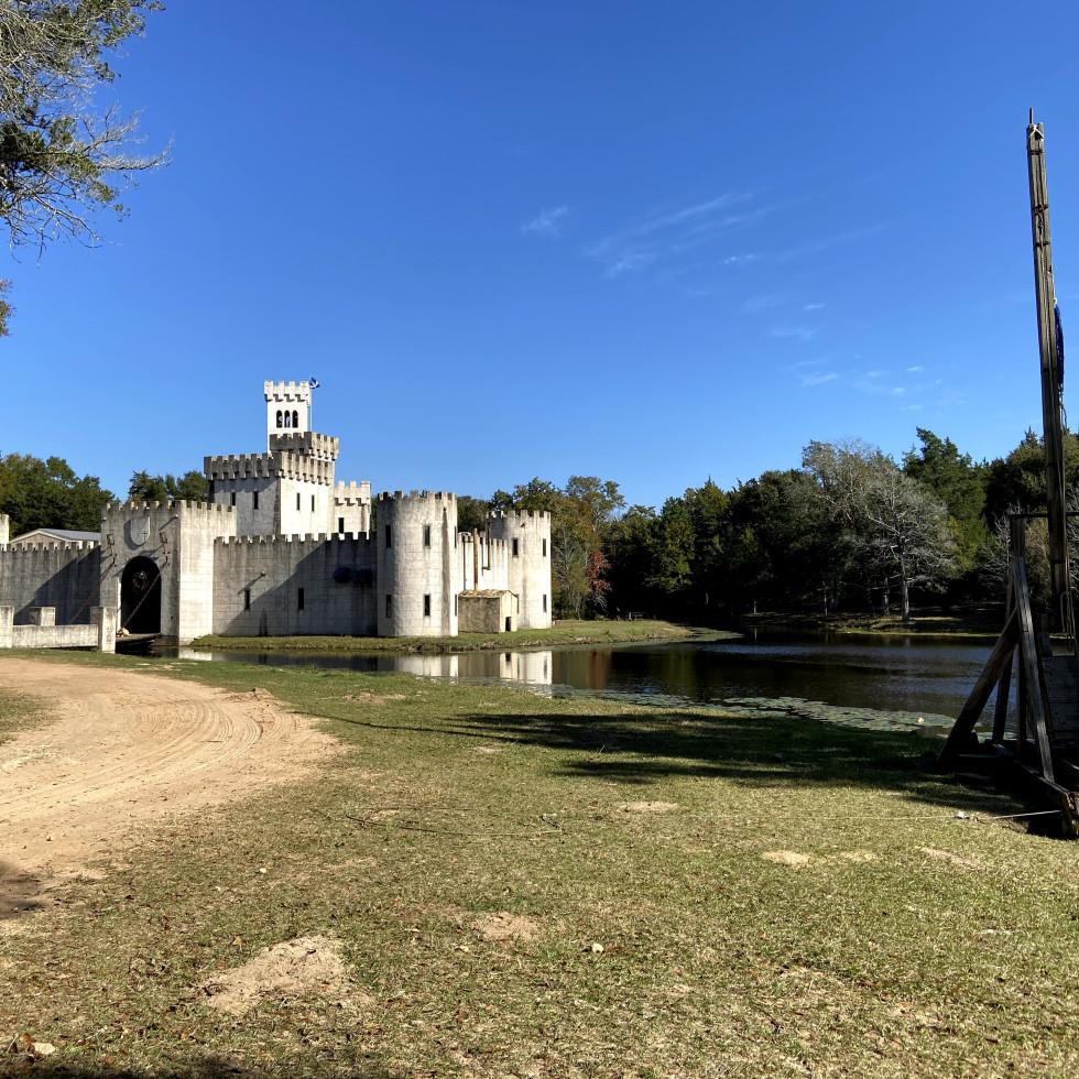 Newman's Castle belville texas
