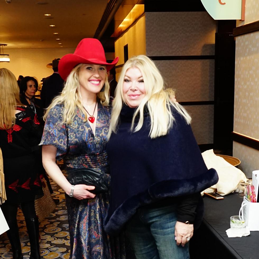 Rodeo Trailblazer Awards Luncheon 2020 Jennifer Roosth Lara Bell