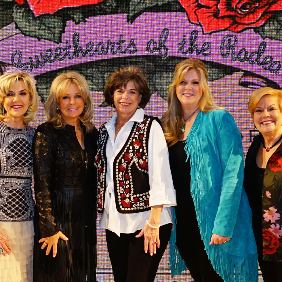 Rodeo Trailblazer Awards Luncheon 2020 Trailblazer Honorees Debi Gan, Gretchen Gilliam, Pamela Logsdon, Ginger Brown and Patti Wilburn