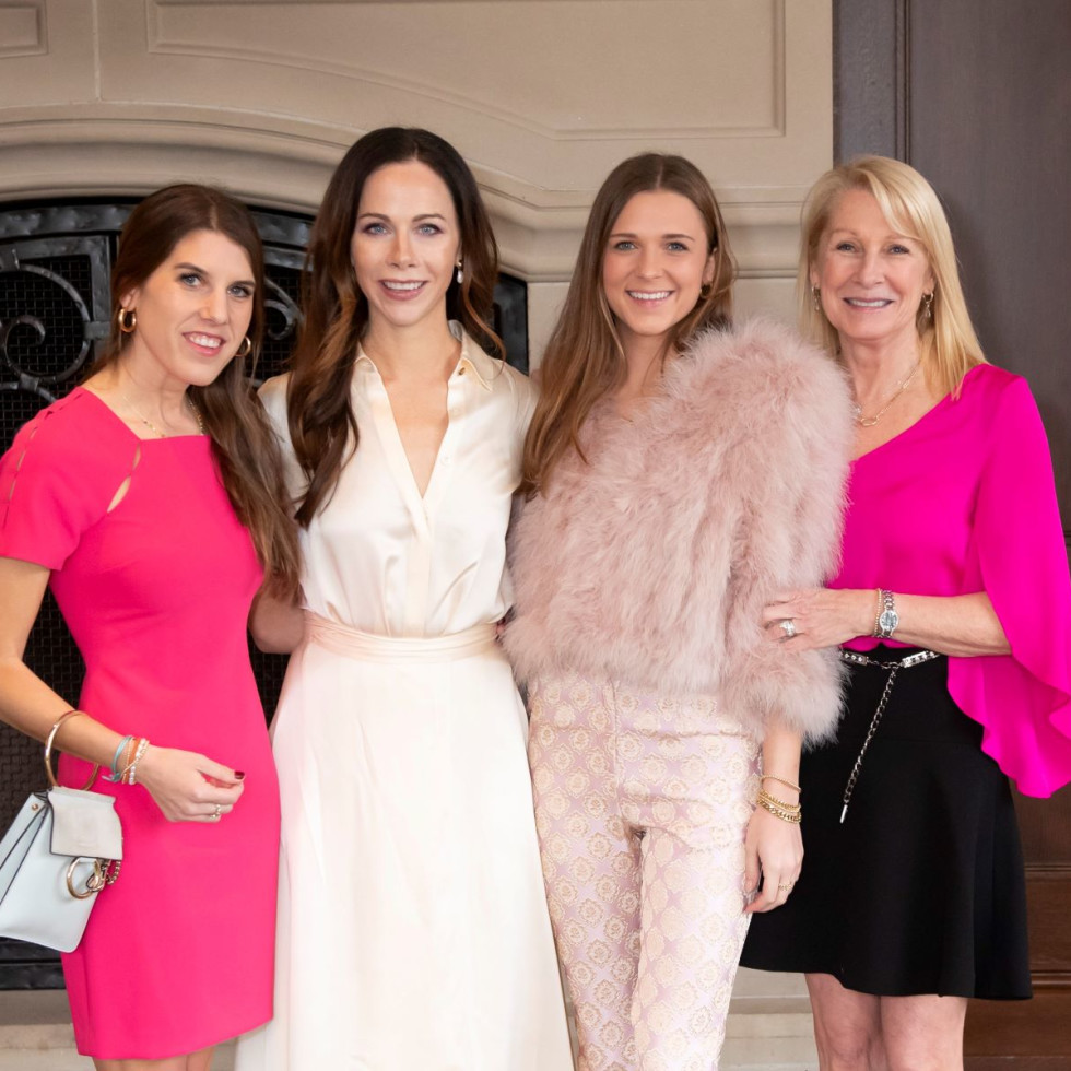 Christina Dabney, Barbara Pierce Bush, Kate Dabney, Shelby Dabney