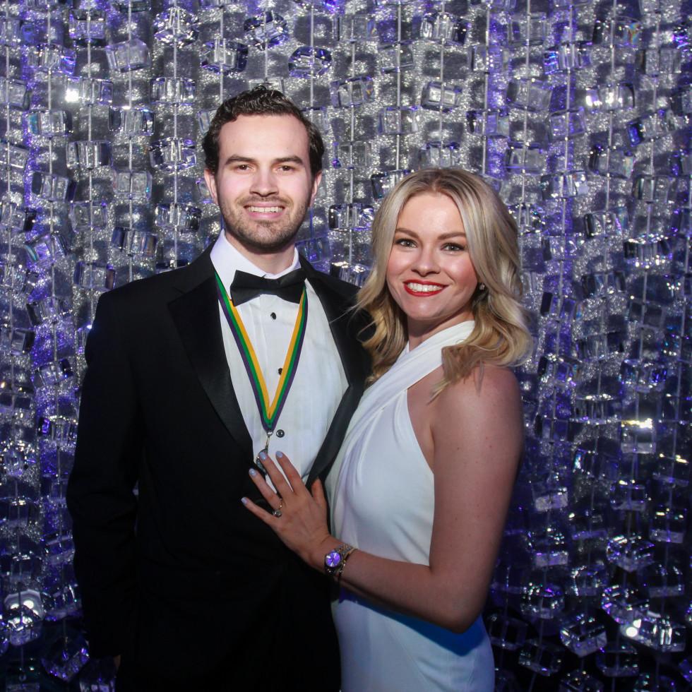 San Luis Salute 2020 Jake Baldwin and Emma Gorski