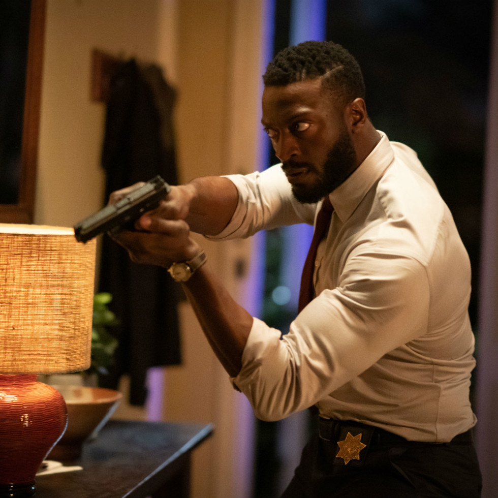 Aldis Hodge in The Invisible Man