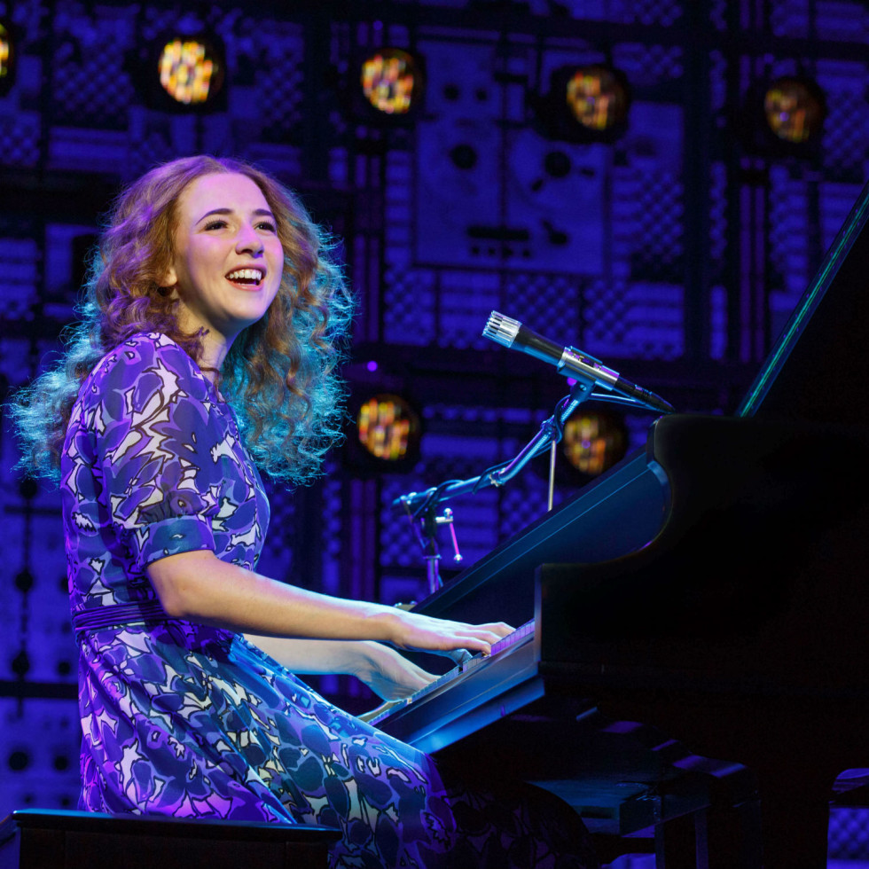 Julia Knitel in Beautiful: The Carole King Musical