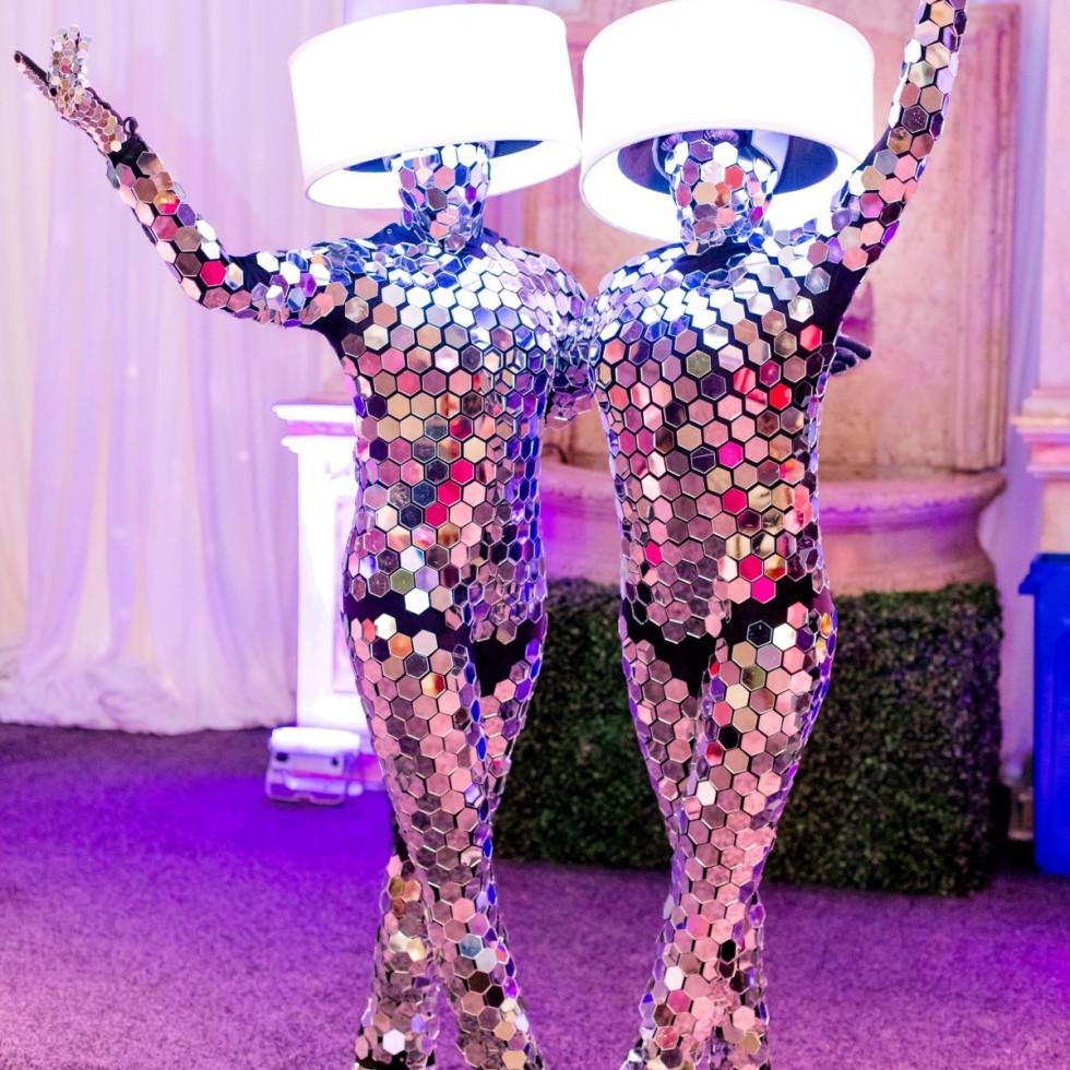 Interactive Mirror Lamps