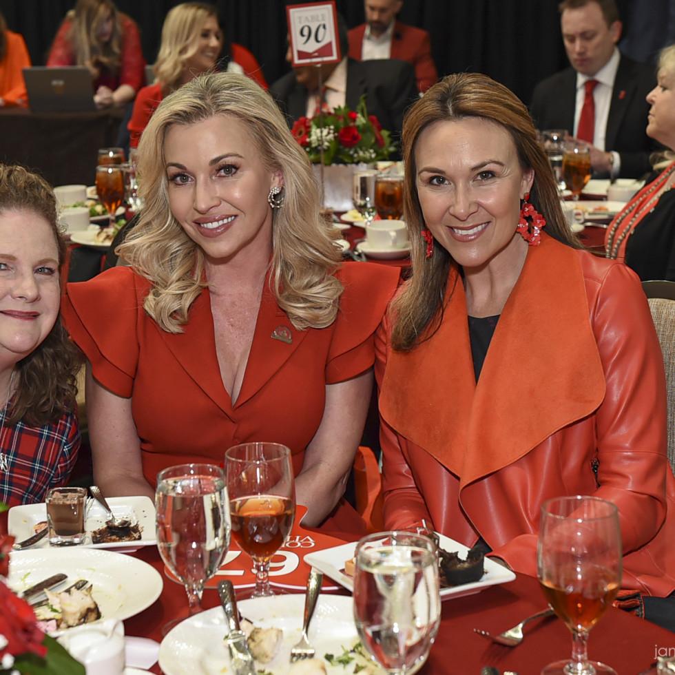 Paige McDaniel, Tavia Hunt, Kate Meyer
