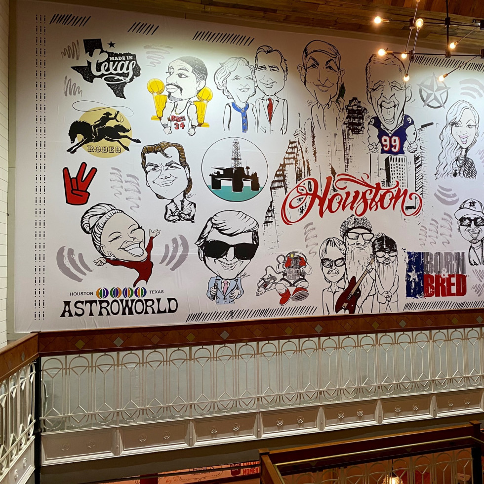 Underground Food Hall mural