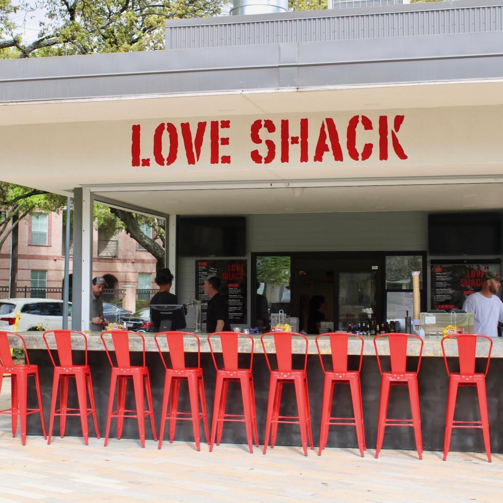 Love Shack Levy Park Tim Love  exteior