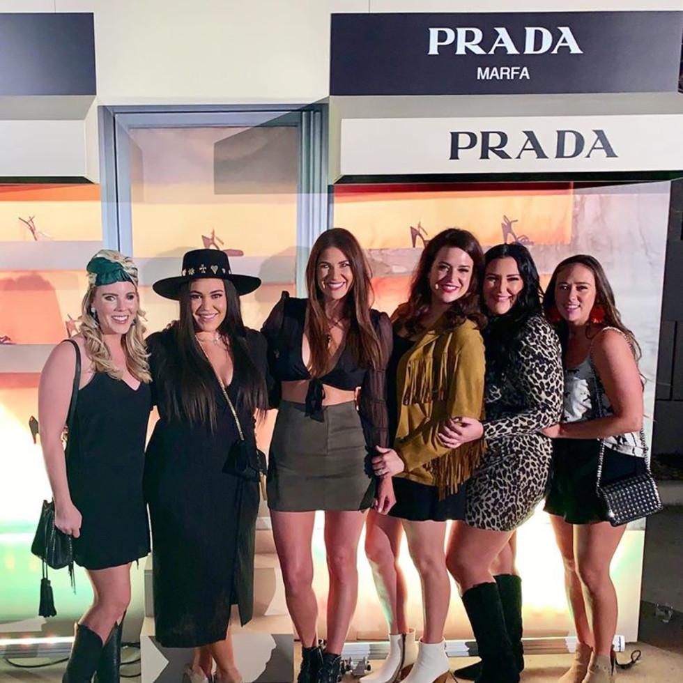 Catherine Gibson Luba, Nicole Marie Veale, Devin Felicity Etzold, Casey Evans Beltran, Caroline Cradick, Jessy Evans
