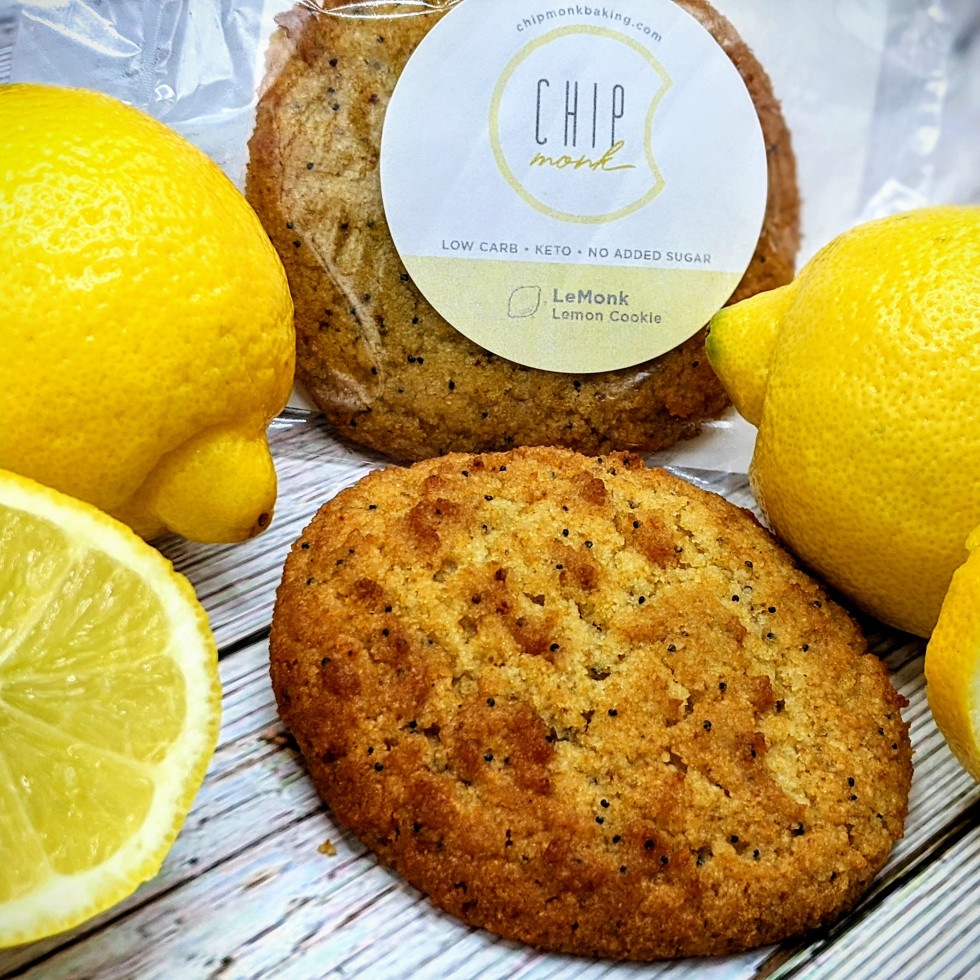 ChipMonk baking lemon cookie