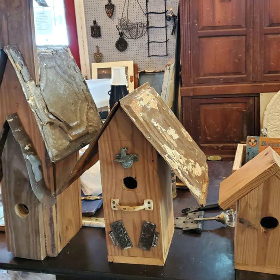 Orr-Reed birdhouses